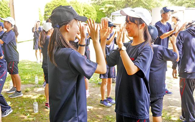 中1 林間学校 1日目