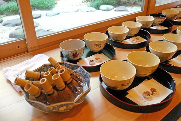 中1研心の時間~茶道体験